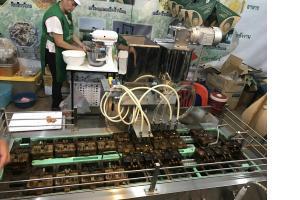 ติดตามการพัฒนาเครื่องแกะเมล็ดข้าวโพดและเครื่องขึ้นรูปและอบขนมแบบต่อเนื่อง