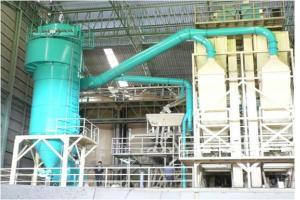 เครื่องดูดและกรองฝุ่นอุตสาหกรรมแบบไซโคลนสำหรับโรงสีข้าว