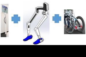 หุ่นยนต์กายภาพบำบัดแบบเคลื่อนที่ได้ (VCE60)