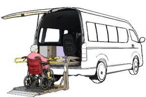 ต้นแบบรถตู้ไฟฟ้าสำหรับการบริการอำนวยความสะดวกแก่ผู้ใช้รถวีลแชร์ VCE63